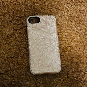 NWOT Otterbox iPhone 7/8 Palm Leaf Case